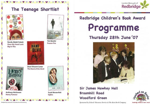 Redbridge Children's Book Awards 07